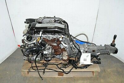 jdm nissan sr20det engine s14 kouki 5 speed transmission and ecu sr20 oil  cooler • 3,500 00