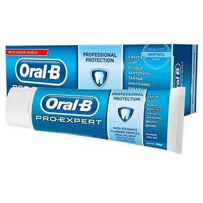 View Details ORAL B PRO EXPERT MULTI PROTECTION/ PROFESSIONAL PROTECTION 50ml X 15 TUBES  • 9.99£