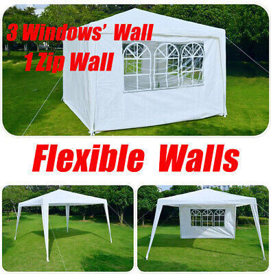 Camping Wedding Beach Party Market Tent Gazebo Canopy Marquee 3Mx3M Flexible  • 66.09£