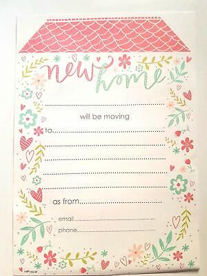20 New Home Address Cards With Envelopes We Have Moved House Notification Change • 3.99£