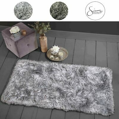 View Details Sienna EXTRA Shaggy 9CM Floor Rug Large Thick High Pile SPARKLE Fluffy Carpet • 21.99£