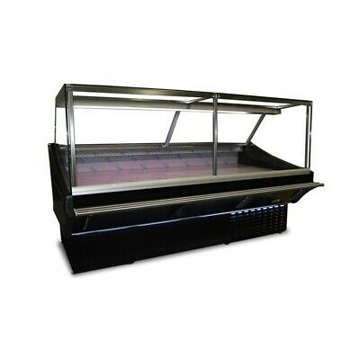Maxi Square 1 M Serve Over Counter Display Chiller Meat Fridge Deli Brand N • 1,850£