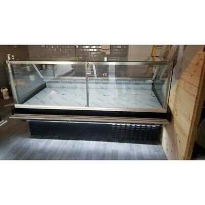Maxi Sq 2.5 M Serve Over Counter Display Chiller Meat Fridge Deli Brand New • 2,850£
