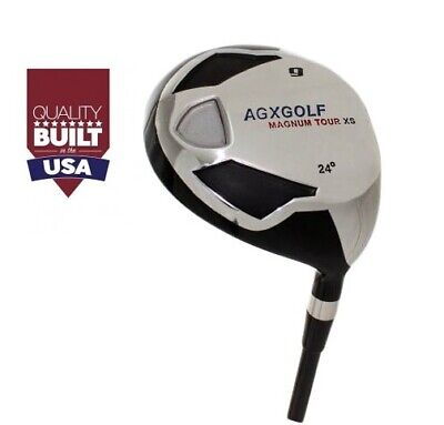 AU76.45 • Buy Agxgolf Fairway Xs # 9 Wood (24°) Mens Right; Graphite Shaft All Sizes & Flexes