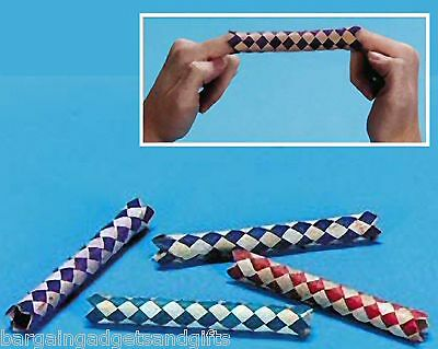 £26.99 • Buy Wholesale 144 Chinese Finger Traps Childrens Birthday Party Bag Toy Filler  Gift