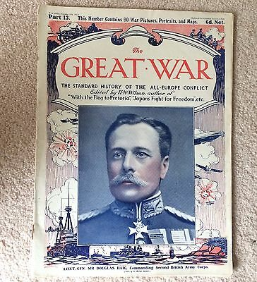 £8.48 • Buy WWI THE GREAT WAR Standard History Of The All Europe Conflict HW Wilson PART 13