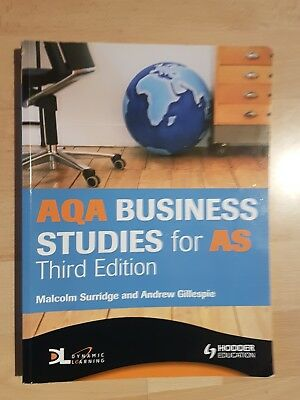 AQA Business Studies For AS By Malcolm Surridge (Paperback, 2008) • 2.50£
