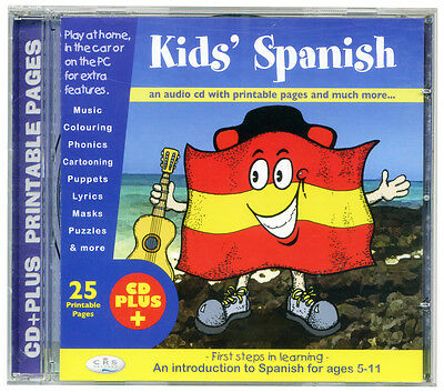 £5.99 • Buy KIDS SPANISH (CD Audio & Rom) First Language Learning Cd. Age 5+ NEW & WRAPPED