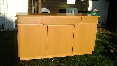 DANISH SKOVBY SM303E Sideboard With Baise Drawer Liners • 300£