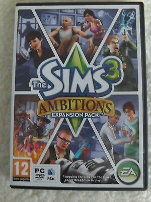 Sims 3 Ambitions Expansion Pack PC  • 5£