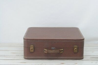 "View Details Vintage Suitcase American Tourister Luggage Brown 21"" VG Condition #2 • 58.00$"