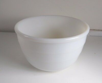 $12.50 • Buy Vintage Milk Glass 7  Mixing Bowl For GE Mixmaster - General Electric