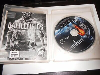 £5.45 • Buy Battlefield 3 Premium Edition Playstation 3 Excellent Condition Fast Ship PS3