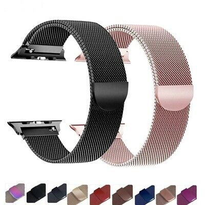 AU21.31 • Buy Milanese Loop For Apple IWatch Bracelet Belt Wrist Band Magnetic Watch Band TOP