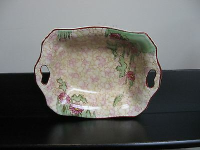 $ CDN12.13 • Buy Vtg ROYAL WINTON GRIMWADES PEBBLED PINK HANDLED NUT CANDY DISH