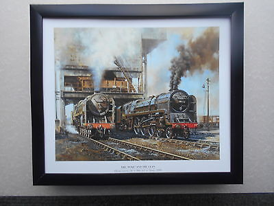 £27.50 • Buy Malcolm Root Steam Train Print 'The 'Duke' And The Clan'  FRAMED