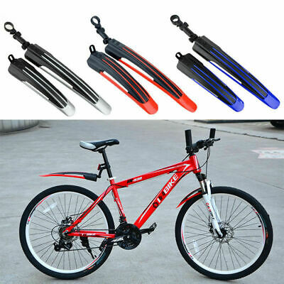 $7.98 • Buy Bicycle Cycling Road Front Rear Mud Guard Mudguard Set Mountain Bike Tire Fender