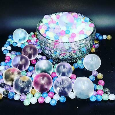 AU5.95 • Buy 25,50,100 Stunning GIANT Metallic Glitter Gel Ball Orbeez Water Beads Waterbeads