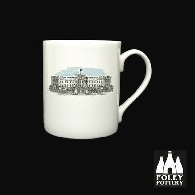 GB: Buckingham Palace, London, Inspired Bone China Mug By Foley Pottery  • 16.95£