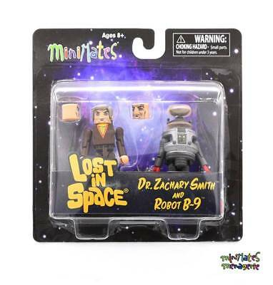 AU22.97 • Buy Lost In Space Minimates Dr. Zachary Smith & Robot B-9 Color 2-Pack