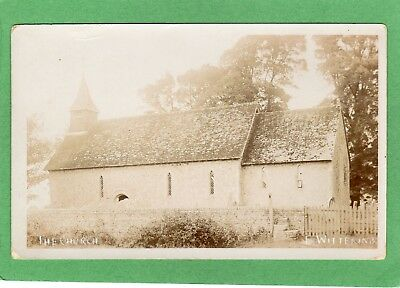 The Church East Wittering Nr Chichester RP Pc Unused   Ref L397 • 6.50£