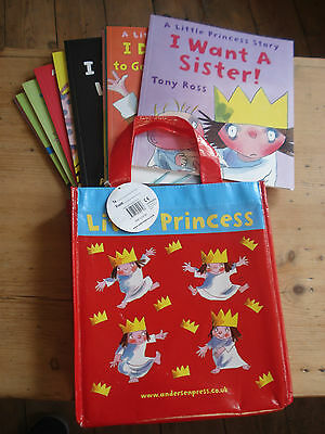 A Little Princess Story Collection Tony Ross 10 Books In A Bag • 30£