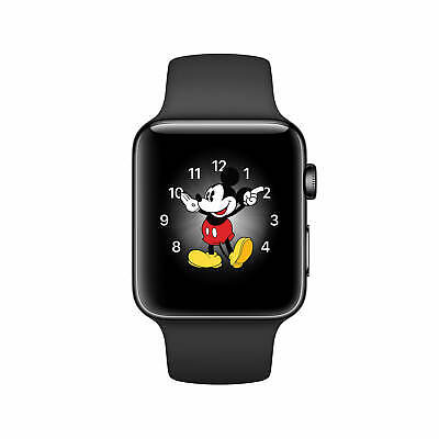 $ CDN340.75 • Buy Apple Watch Series2 42mm GPSOnly Space Black Steel Case Black Band MP4A2LL/A