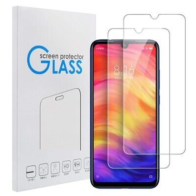 AU6.49 • Buy [2 Pack] For Xiaomi Redmi Note 7 Pro Tempered Glass Screen Protector Film Guard