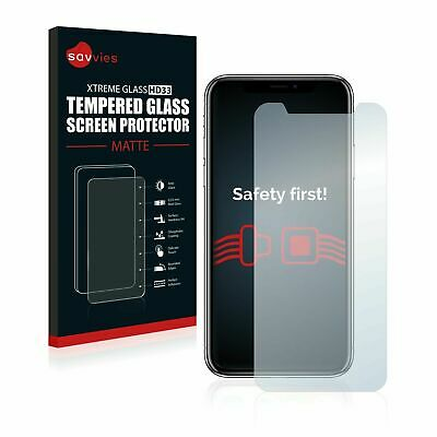 AU35.92 • Buy Apple IPhone X, Savvies® Xtreme Glass HD33 Matte Tempered Glass Screen Protector