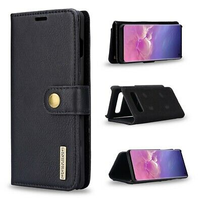 AU29.99 • Buy 360°Full Protection Wallet Flip Leather Case For Samsung Galaxy S10 Plus - Black