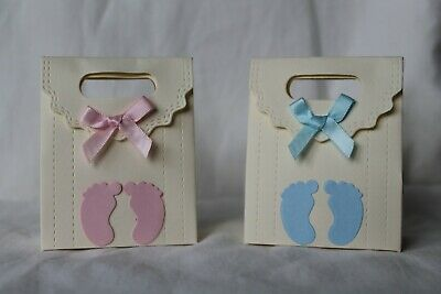 10 X Baby Shower Favour / Gift Boxes - Baby Shower , Christening • 2.75£
