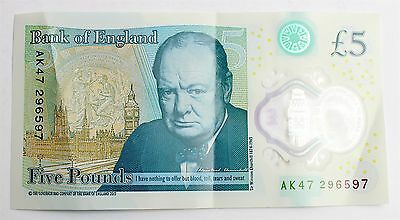 £5 - Ak47  Five Pound Note Rare Extremely Valuable Collectables - London England • 57£