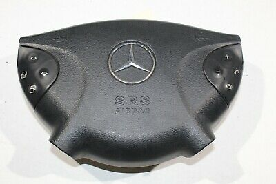 $151.80 • Buy 2003-2006 Mercedes-benz E320 Driver's Steering Wheel Airbag W/ Switches K9753