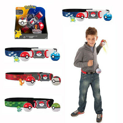 Pokemon Clip N GO Carry Poke Ball Toys Cross Belt Game Kids Gift UK Stock Fast • 16.50£