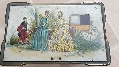Clarnico Sweets Tin Highly Collectable Attractive Tin With Original Key In A Vgc • 12£