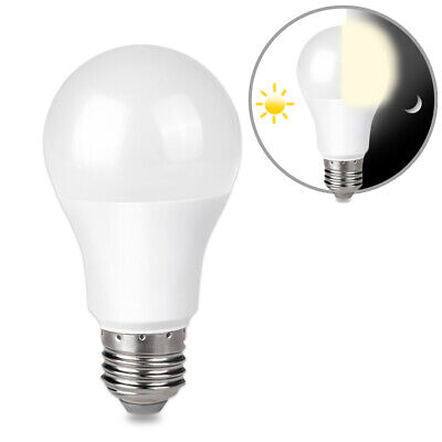 $5.99 • Buy 9W E26 LED Dusk To Dawn Light Bulb Auto On Off For Outside, Home, Lamp