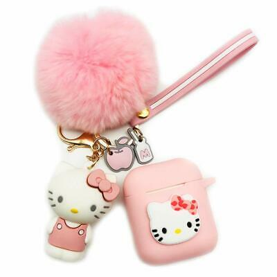 $ CDN10.55 • Buy 3D Cute Hello Kitty Doll Plush Ball Strap Case Cover For Airpods Pro 3 2 1 Case