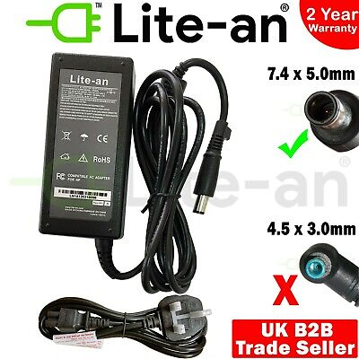 £14.99 • Buy For HP 550 620 625 510 530 G5000 G6000 AC Adapter Charger Power Supply + UK Lead
