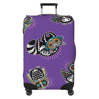 Animal Skeletons SUITCASE COVER Protector Skin Purple • 18.99£
