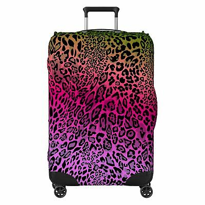 Modern Animal Pattern SUITCASE COVER Protector Skin Multi-Coloured • 18.99£
