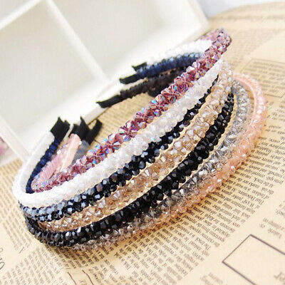 $ CDN2.77 • Buy Crystal Hairbands Cute Headband Hair Accessories Hair Hoop Band For Women Girls