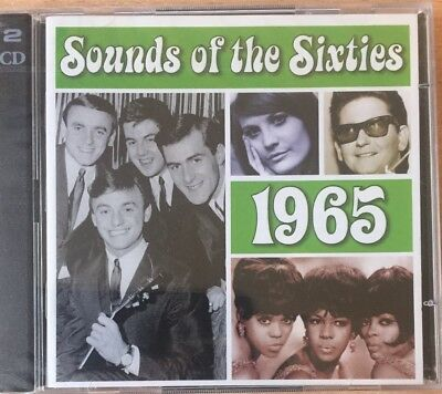 Time Life - Sounds Of The Sixties - 1965 - New & Sealed Double CD - FAST UK POST • 15.49£