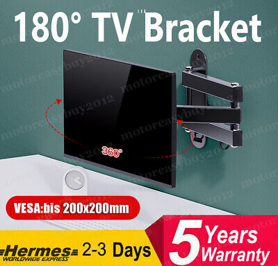 £28.99 • Buy Full Motion Curved Flat TV Wall Bracket Mount For Samsung 23 32 45 50 55 65 70