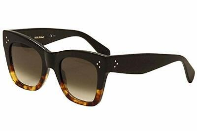 8ed65d1c879 NEW Celine CL 41090S (FU5Z3) Black   Havana Shaded Sunglasses • 225.00