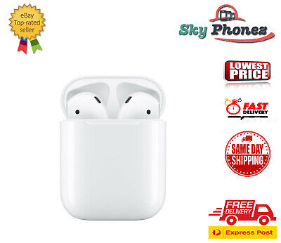 AU199 • Buy Apple AirPods 2nd Gen With Charging Case - Cheap Fast Ship FREE EXPRES [AU Sell]