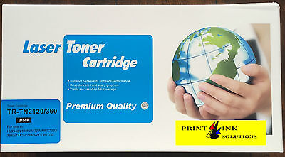 Compatible Toner Cartridge TR-TN2120 For Brother MFC-7840W/HL2140/2150N/2170W • 12.99£