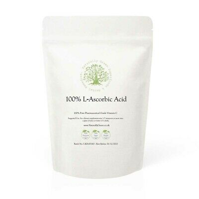 L-Ascorbic Acid - Pure Vitamin C Powder FREE P&P • 5.49£