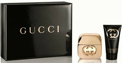 £41.79 • Buy Gucci Guilty Femme / Her / Donna Edp 30 Ml Spray + Body Lotion 50 Ml