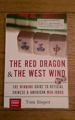$20.62 • Buy The Red Dragon And The West Wind: Mah-Jongg Tom Slopper Uncorrected Proof Book