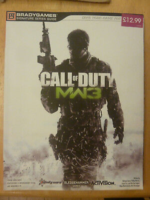 Call Of Duty Modern Warfare 3 Game Strategy Book - Bradygames PS3 XBOX 360 PC • 5.99£